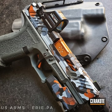 Cerakoted Custom Handgun Camo