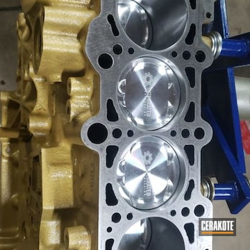 Cerakoted Audi Tt Motor Build In C-7800