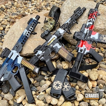 Cerakoted Star Wars Themed Ar Pistols