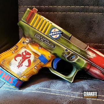 Cerakoted Star Wars Themed Glock 30 Handgun