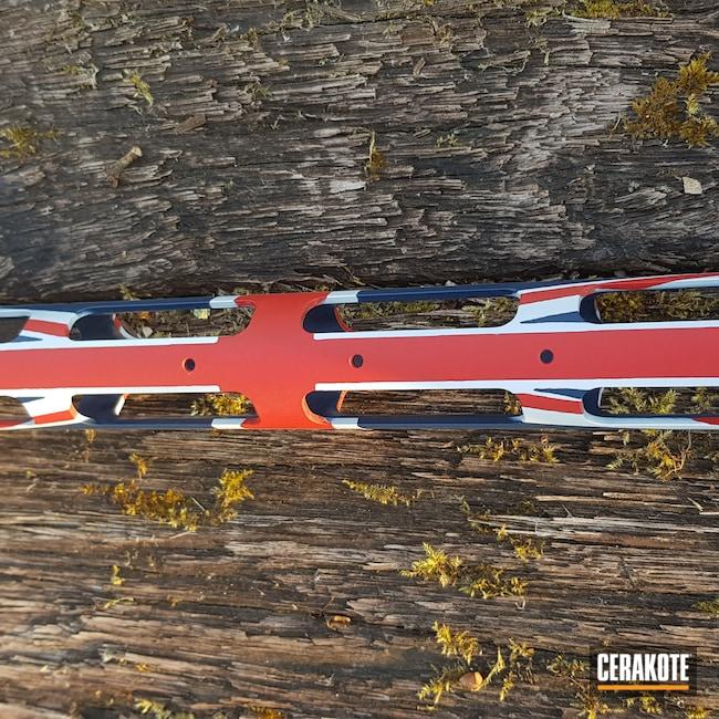 Cerakoted: SHOT,Union Jack,Sabatti,Stormtrooper White H-297,USMC Red H-167,KEL-TEC® NAVY BLUE H-127,.300 Blackout,STR,Union Flag