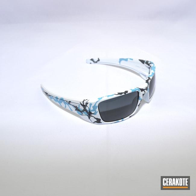Cerakoted: Bright White H-140,S.H.O.T,Sunglasses,Sniper Grey H-234,Sea Blue H-172,Oakley,Robin's Egg Blue H-175,More Than Guns,Camo Mixed Blues