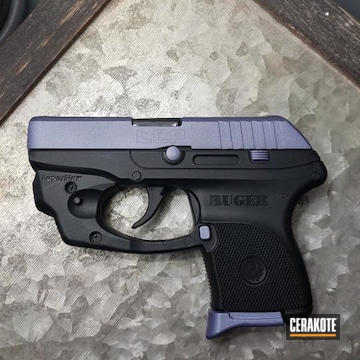 Cerakoted Purple Two Toned Ruger Lcp