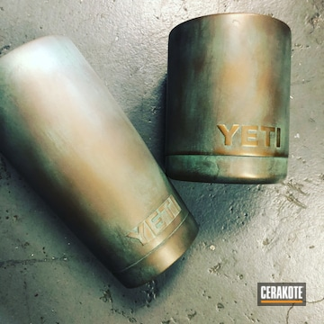 Cerakoted Custom Yeti Tumblers