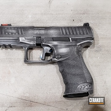 Cerakoted Walther Ppq In H-242 And H-190