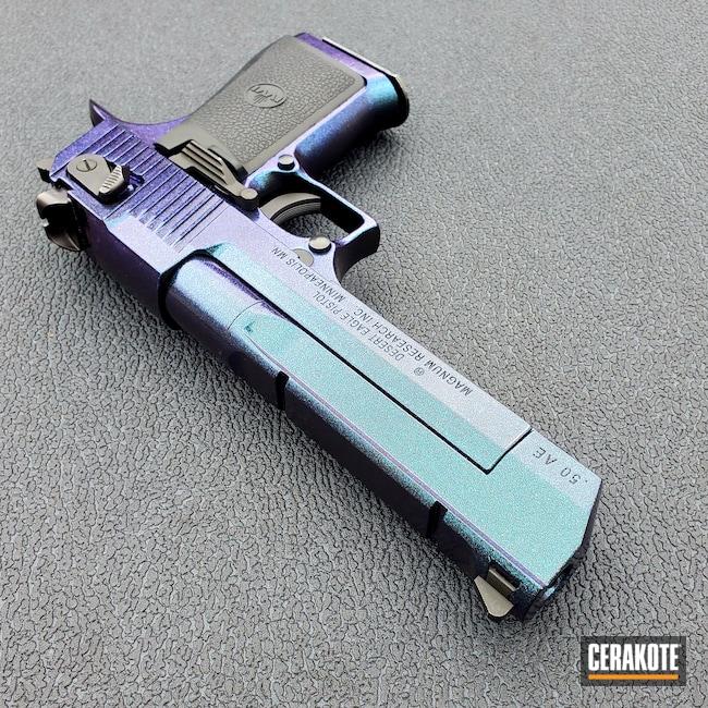 Cerakoted: S.H.O.T,Desert Eagle,Graphite Black H-146,Pistol,HIGH GLOSS ARMOR CLEAR H-300,GunCandy