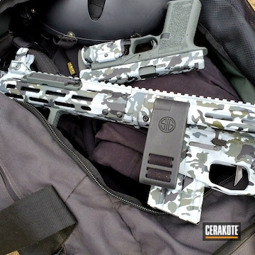 Cerakoted Custom Multicam Ar