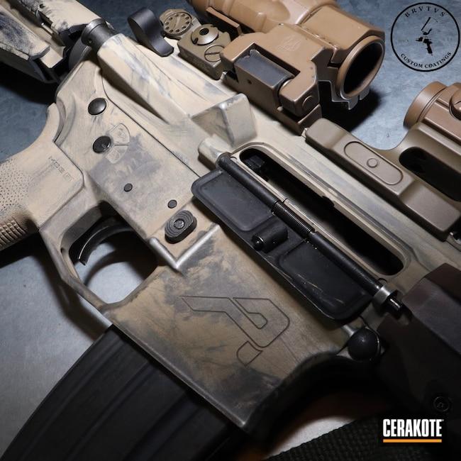 Cerakoted: S.H.O.T,Aero Precision,AR Pistol,Patriot Brown C-226,Graphite Black H-146,Aero,Desert Sand H-199,Patriot Brown H-226,Titanium H-170,Tactical Rifle,.223,5.56