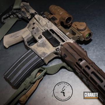 Cerakoted Custom Aero Precision Ar Pistol