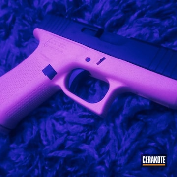 Cerakoted Two Toned Glock 43x In H-328