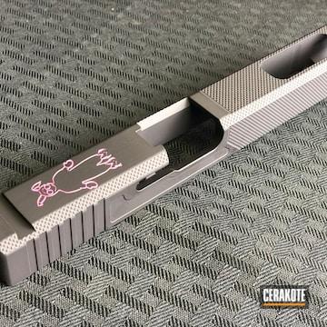 Cerakoted Glock Slide In H-190 And H-141