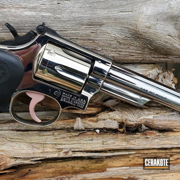 Cerakoted .357 S&w Revolver In H-146 And H-327