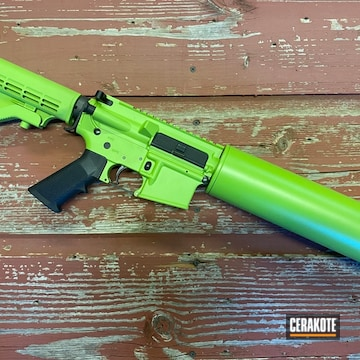 Cerakoted Green Can Cannon