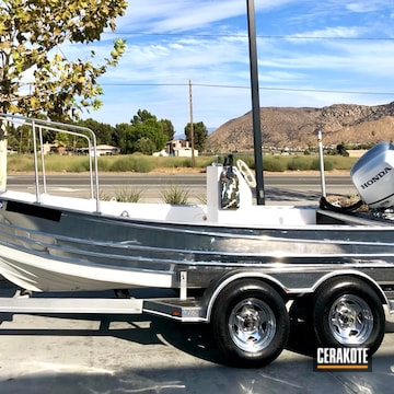 Cerakoted Clear Custom Clear Boat Coating