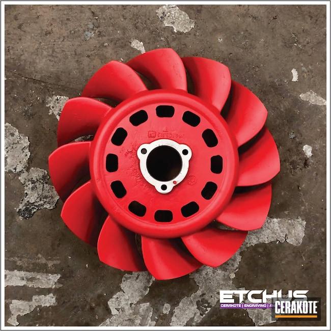 Cerakoted: Automotive Parts,USMC Red H-167,More Than Guns,Automotive,Porsche Fan,Porsche
