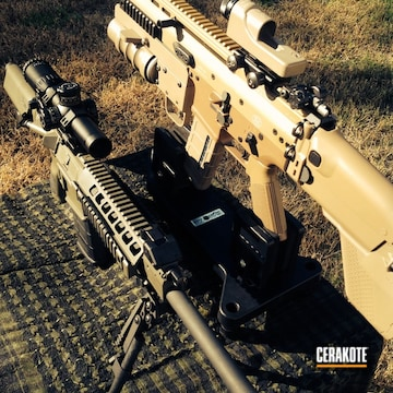 Cerakoted C-226 Patriot Brown With C-232 Magpul O.d. Green And H-265 Flat Dark Earth