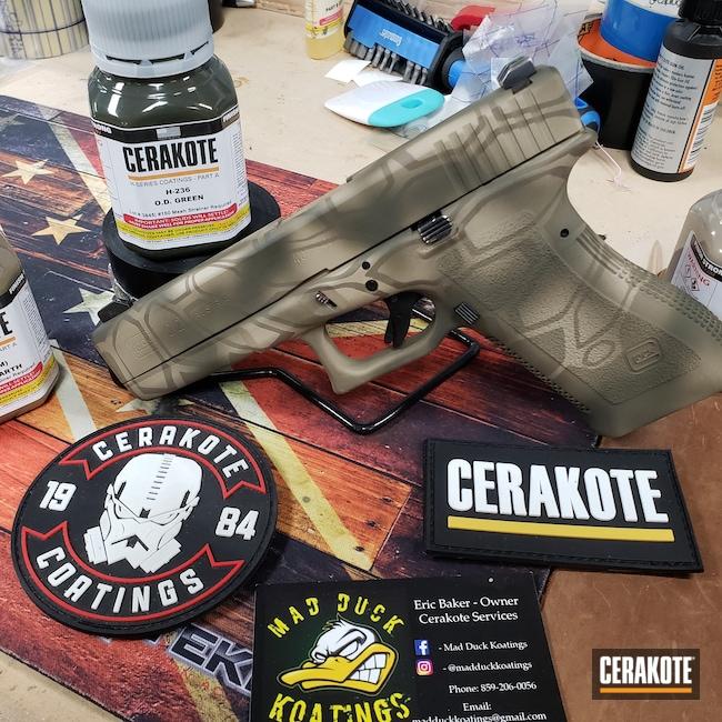 Cerakoted: S.H.O.T,Kryptek,MAGPUL® FLAT DARK EARTH H-267,Desert Sand H-199,Pistol,Glock,O.D. Green H-236,Glock 22
