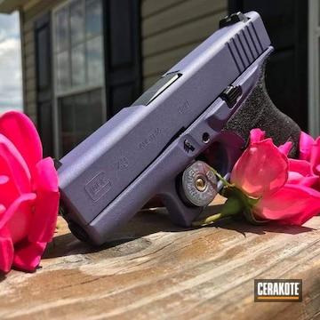 Cerakoted Purple Refinished Glock 43