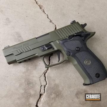 Cerakoted Sig Sauer P226 In H-264