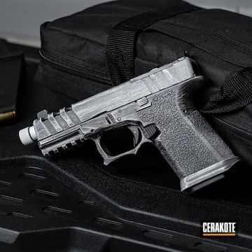 Cerakoted Custom Polymer 80 G19 In H-136 And H-146