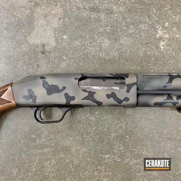 Cerakoted 3 Color Multicam Mossberg 835 Shotgun