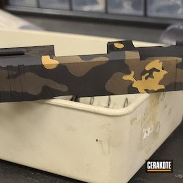 Cerakoted Multicam Glock Slide In H-146, H-199, H-248 And H-250