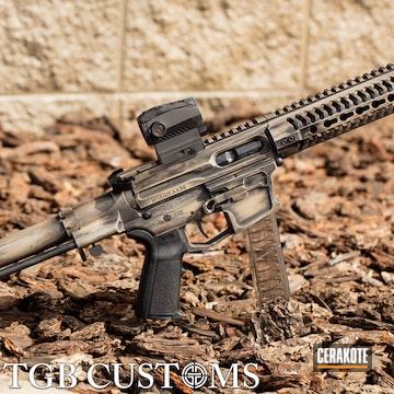 Cerakoted Custom Ar Pistol In H-146 And H-199