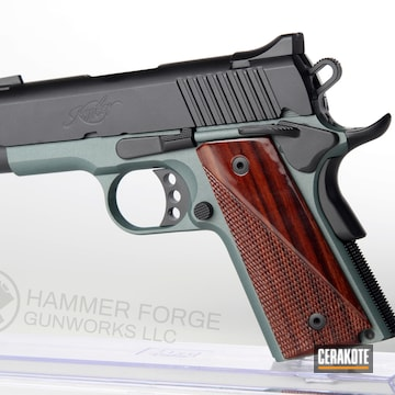 Cerakoted Kimber 1911 In H-146 And H-338