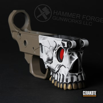 Cerakoted Custom The Jack Lower Receiver