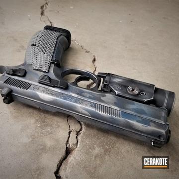 Cerakoted Cz-75 Sp-01 Handgun