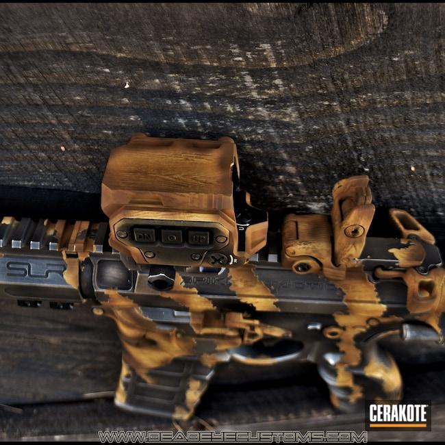 Cerakoted: S.H.O.T,Snow White H-136,SAVAGE® STAINLESS H-150,Gen II Graphite Black HIR-146,Tactical Rifle,.223,GLOCK® FDE H-261,Light Sand H-142,AR-15
