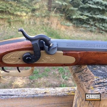 Cerakoted Montana Muzzleloader Rifle