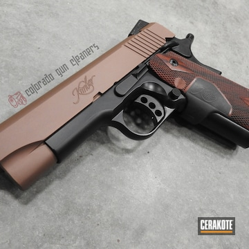 Cerakoted Custom Kimber 1911 In H-146