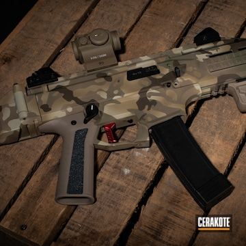 Cerakoted Cz Scorpion Multicam