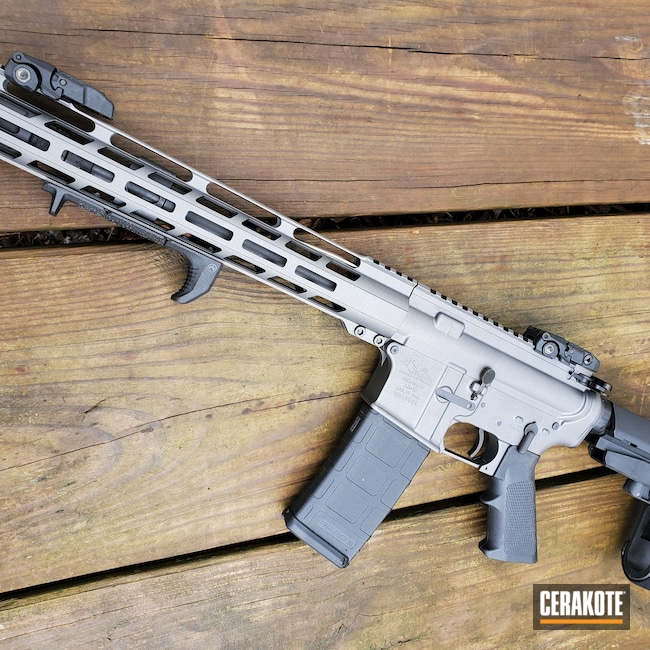 Cerakoted: S.H.O.T,Anderson Mfg.,Tungsten H-237,Tactical Rifle