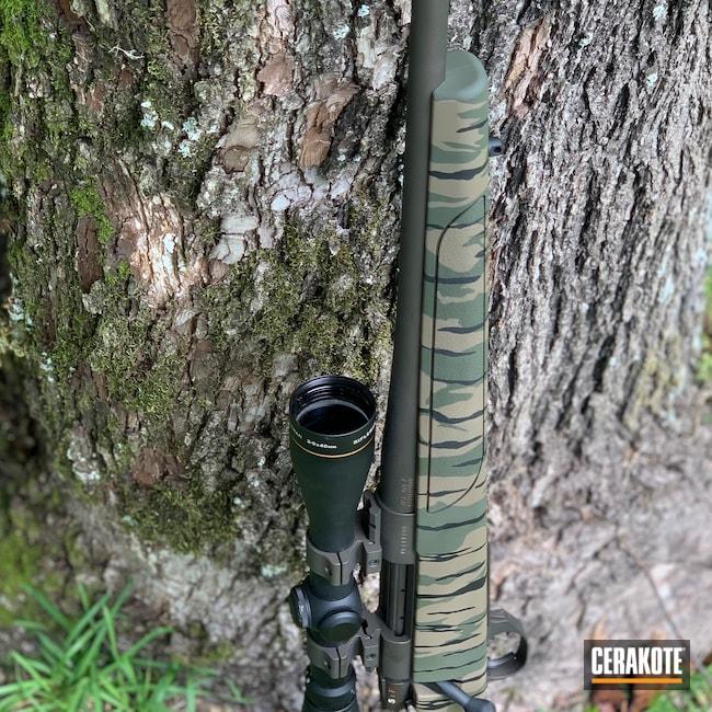 Cerakoted: S.H.O.T,Bolt Action Rifle,6.5 Creedmoor,Vanguard,Graphite Black H-146,Weatherby