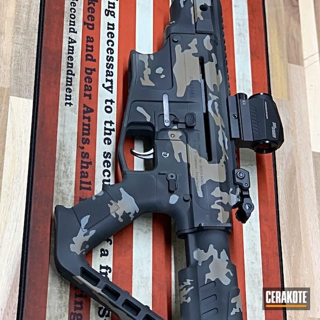 Cerakoted: S.H.O.T,MultiCam,Shotgun,VR80,Graphite Black H-146,RIA,12 Gauge