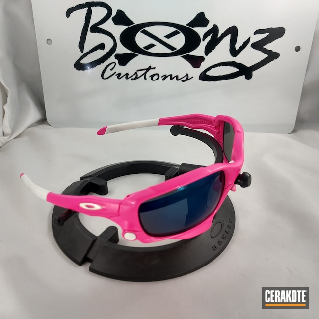 Cerakoted: Sunglasses,Oakley,Lifestyle,More Than Guns,Prison Pink H-141