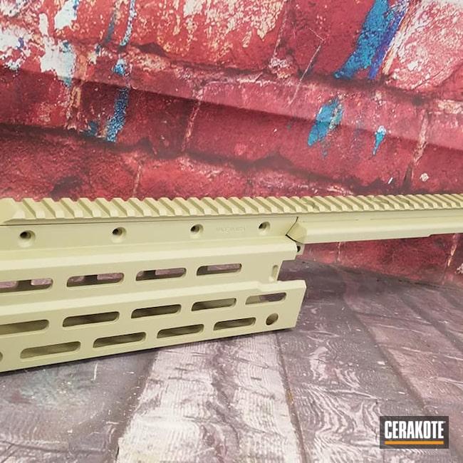 Cerakoted: S.H.O.T,AR15 Handrail,Desert Sand H-199,Handguard,Gun Parts