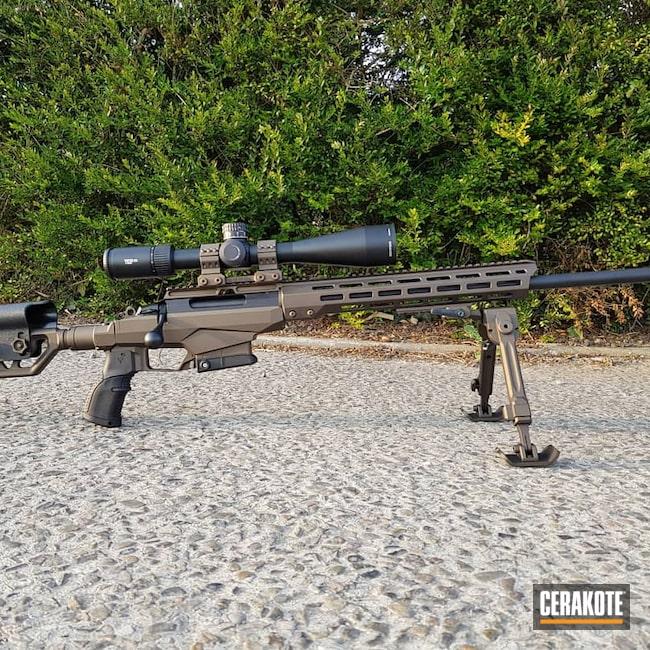 Cerakoted: S.H.O.T,Bolt Action Rifle,Graphite Black H-146,Midnight Bronze H-294,.308,Tikka,.308 Tikka T3x TAC A1