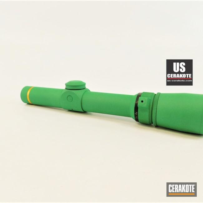 Cerakoted Custom Leupold Scope In H-316