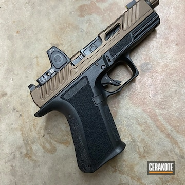 Cerakoted Shadow Systems 9mm In H-294