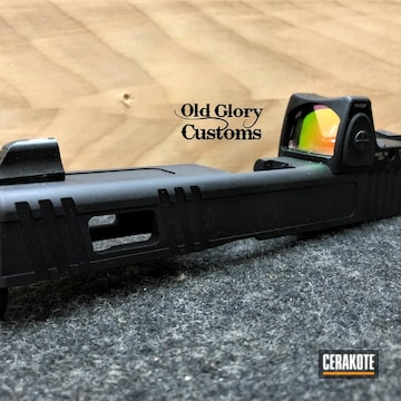 Cerakoted Custom Glock 19 Slide In H-190