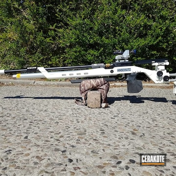 Cerakoted Custom Bolt Action Rifle In H-136