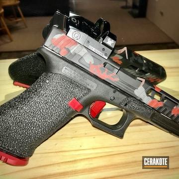 Cerakoted Custom Glock In H-221, H-190 And H-227
