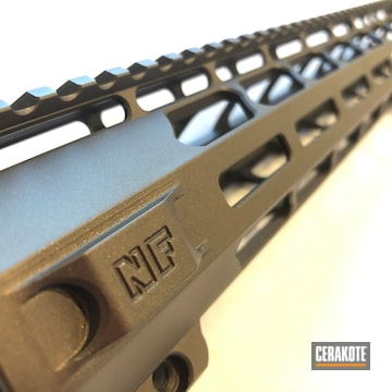 Cerakoted Refinished Handguard In H-294
