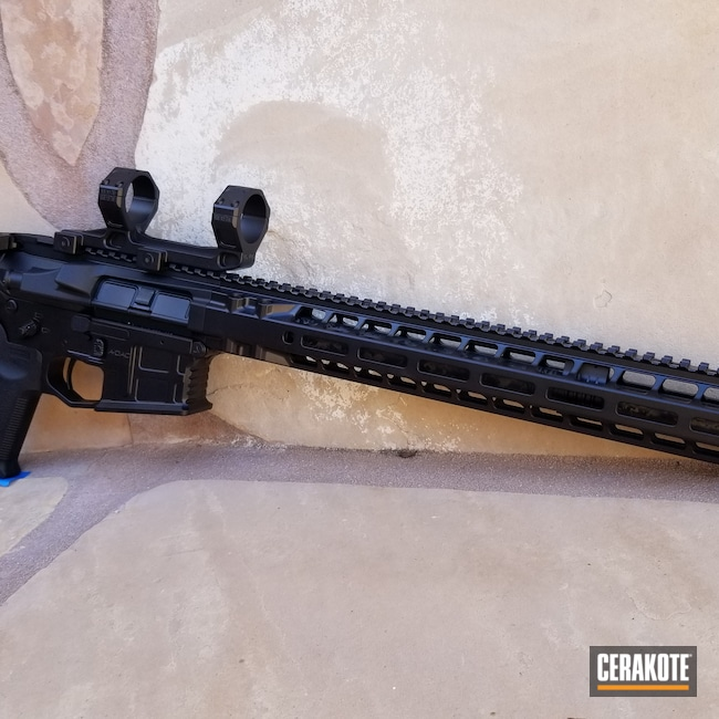 Cerakoted: S.H.O.T,Graphite Black H-146,Tactical Rifle