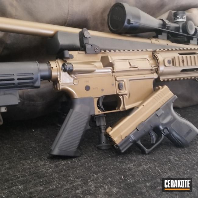 Cerakoted: S.H.O.T,Burnt Bronze H-148,Matching Set