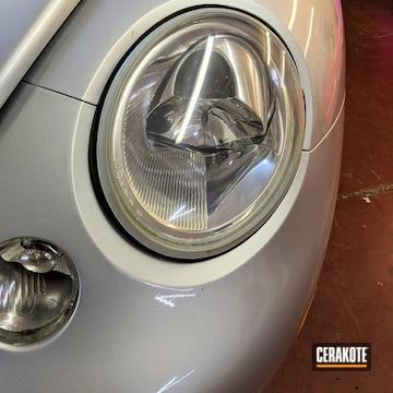 Cerakoted Vw Bug Headlight Restoration