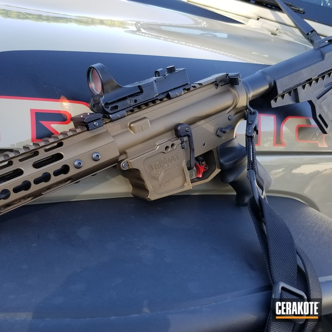 Cerakoted: S.H.O.T,Two Tone,Burnt Bronze H-148,Tactical Rifle